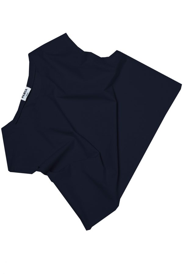 CROP pop navy texture